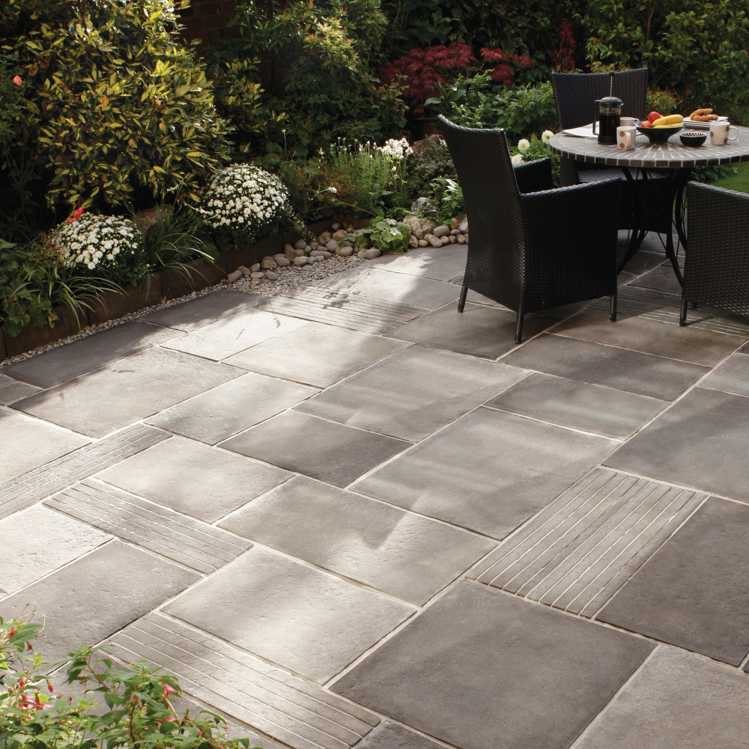 Small Garden Paving Ideas within Paving Ideas For Small Back Gardens