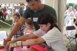 Consistandsee: Printing With Kids for Garden House School Summer Fair