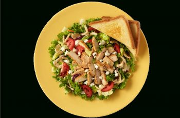 Garden Blue Zalad With Blackened Fillet From Zaxby's | Nurtrition with Zaxby's Garden House Salad Calories