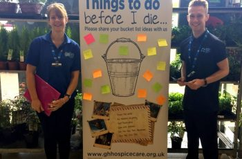 Letchworth-Based Hospice Set To Offer Advice At Dying Matters within Garden House Hospice Care Jobs