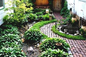 Simple Landscaping Ideas Around House Garden And Patio Narrow Side inside Garden Design Side Of House