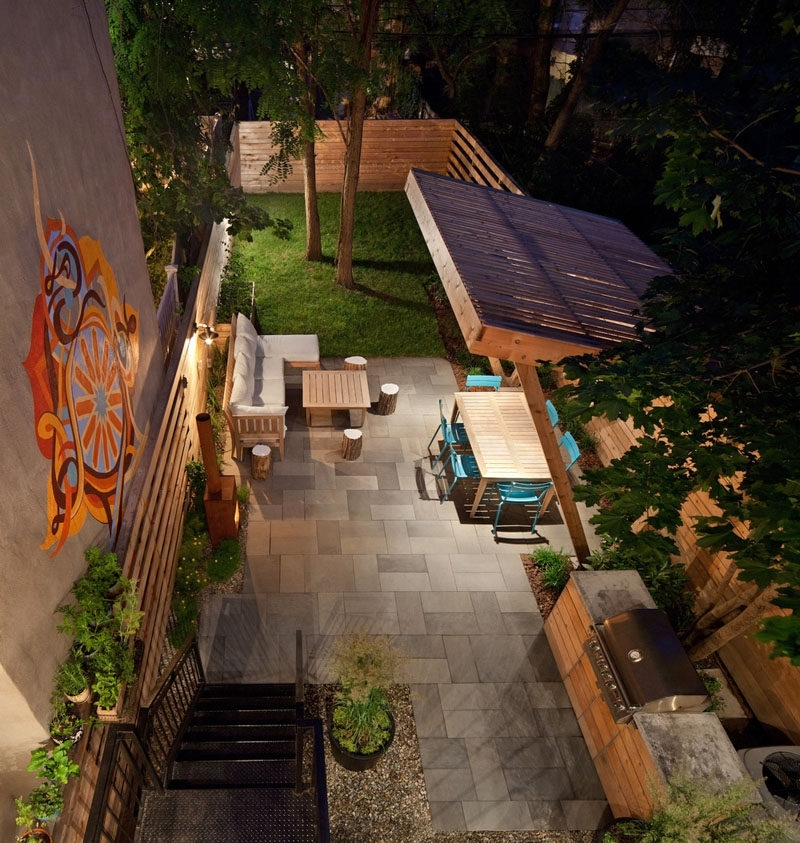 16 Inspirational Backyard Landscape Designs As Seen From Above with regard to Landscape Yard Design Pictures